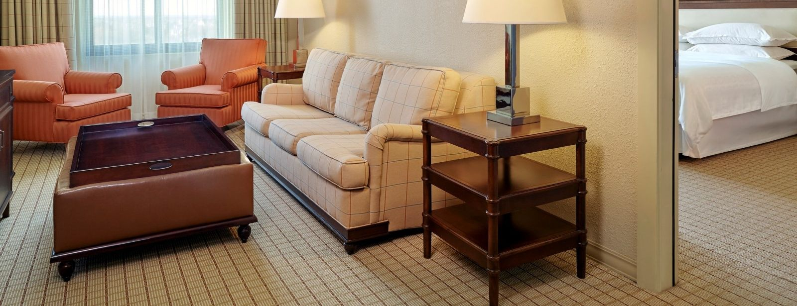 Executive Suite with a King Bed at Sheraton Stonebriar Hotel
